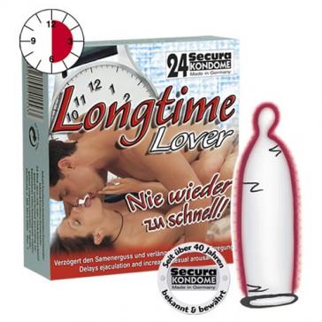 Condom Secura Longtime Lover 24pz
