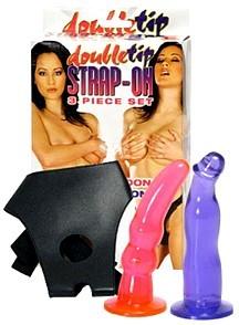 Strap-on Double Tip con 2 dildo