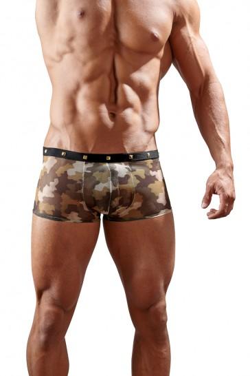Boxer uomo con stampa mimetica