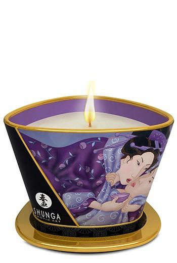 Candela da massaggio aromatizzata Shunga 170 ml-Frutti esotici