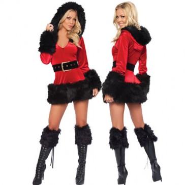 Costume donna aiutante di Babbo Natale