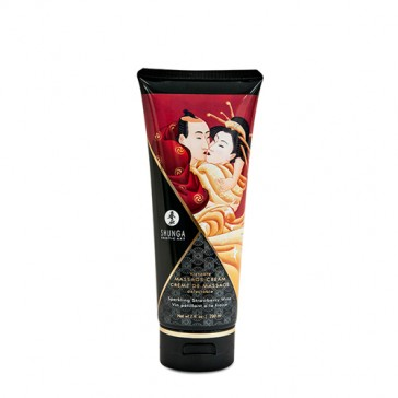 Crema per il corpo Kissable Massage Creame Shunga-Fragola