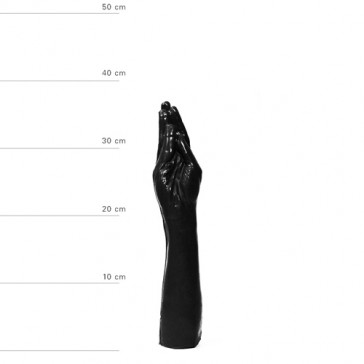 Dildo Fist Fucking Wolfgang All Black 37cm