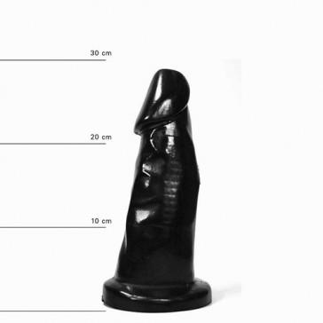 Heinz Dildo anale nero 29x8.5cm