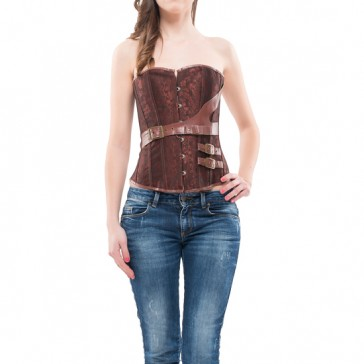 Corsetto Abbigayle marrone - INTIMAX
