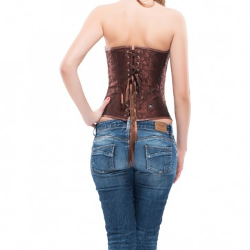 Corsetto Abbigayle marrone - INTIMAX-XXL