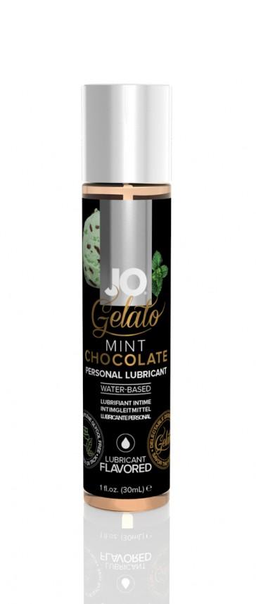 Lubrificante fruttato a base d'acqua 30ml Jo Gelato-Cioccolato/Menta
