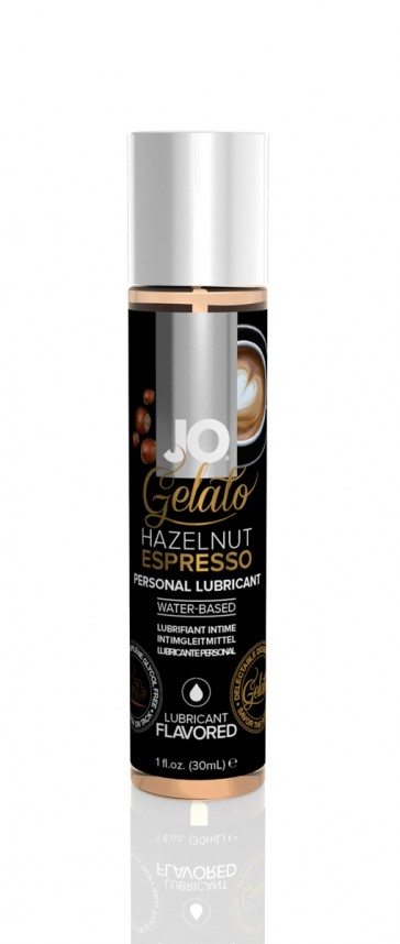 Lubrificante fruttato a base d'acqua 30ml Jo Gelato-Nocciola espresso