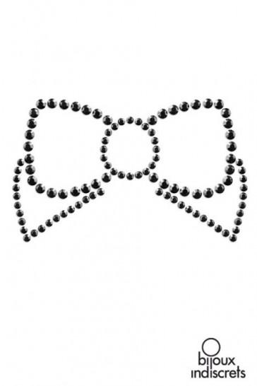 Mimi Bow copricapezzoli a forma di fiocco-Nero