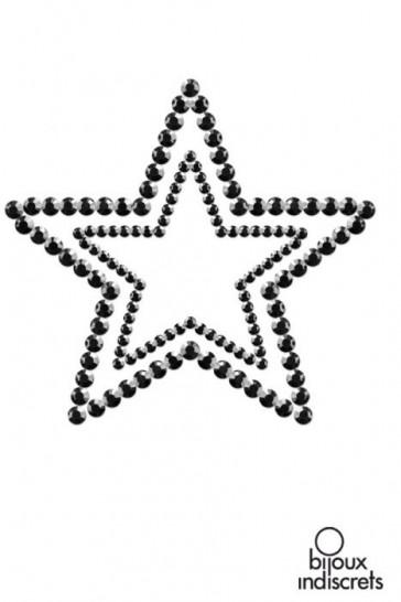 MIMI STAR - COPRICAPEZZOLI A FORMA DI STELLA-Nero