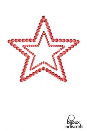 MIMI STAR - COPRICAPEZZOLI A FORMA DI STELLA-Rosso