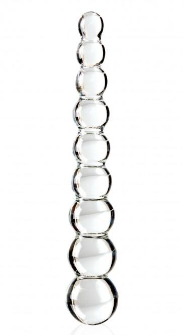 Dildo in vetro Sapphire Spiral ICICLES 2