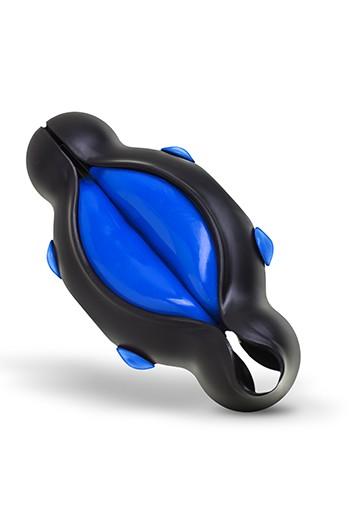 Stimolatore per uomo VërSpanken modello Smooth azzurro Big Teaze Toys