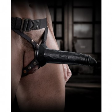 Strap-on con dildo cavo Command Pipedream