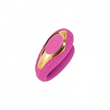 Surenda Enhanced vibratore per bocca in silicone-Rosa