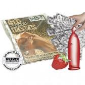 Profilattici Peccato Rosso 50pz