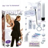 Cofanetto speciale matrimonio sex toys bianchi