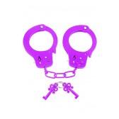 Manette in metallo Neon Fun Cuffs viola Pipedream