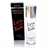 Rebel Love on the Run cologna uomo ai feromoni 30ml