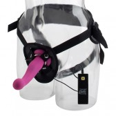 Strap-on con dildo Love Rider G-Kiss 10 funzioni