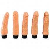 Set di 5 vibratore anatomici Compagni di comodino