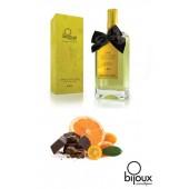 Olio da massaggio commestibile-Cioccolato nero/Arancia