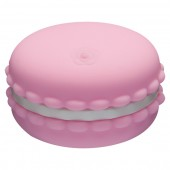 Kawaii Macaroon rosa stimolatore clitorideo