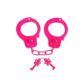 Manette in metallo Neon Fun Cuffs rosa Pipedream