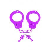 Manette in metallo Neon Fun Cuffs viola Pipedream