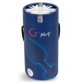 Plug anale large Gplug Ocean ricaricabile G-Vibe