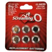 Batterie di ricambio Screaming O