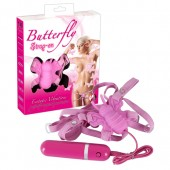 Strap-on per donna Butterfly Wonderful rosa You2Toys