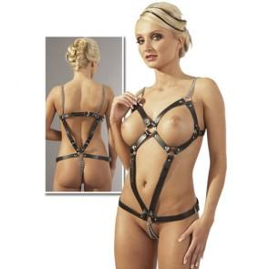 Imbracatura in pelle Donna con catenelle