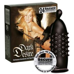 Preservativi Secura Dark Desire 24pz