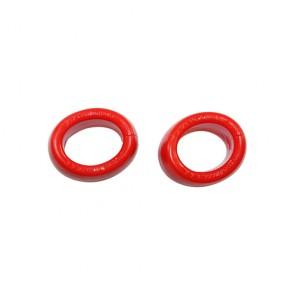 Anello per pene rosso Plasma Ballstrecher