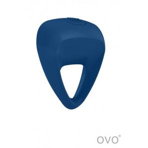 Anello vibrante B9 impermeabile 1 velocità-Blu