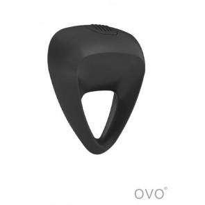 Anello vibrante B9 impermeabile 1 velocità-Nero