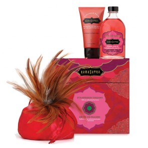 Confezione regalo Strawberry Dreams gusto fragola