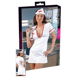 Costume provocante da infermiera sexy 2 pz