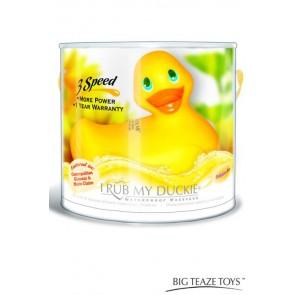Paperella vibrante grande gialla 12cm I Rub My Duckie