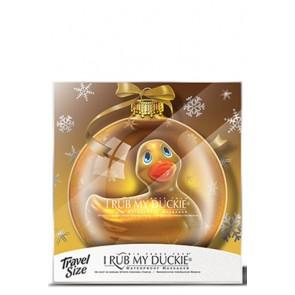 I Rub my Duckie anatroccolo vibrante Xmas Gold
