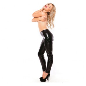 Leggings neri attillati Allure tg. Unica