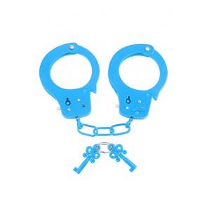 Manette in metallo Neon Fun Cuffs azzurro
