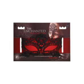 Maschera in pizzo nero The Enchanted Black Lace Mask