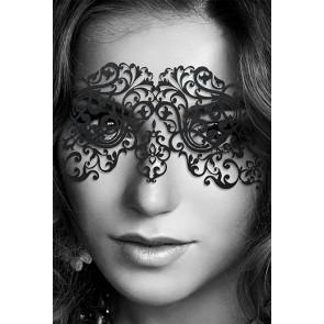Dalila Maschera in vinile nero senza elastico