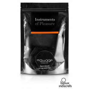 Kit Arancio - Instruments of Pleasure con manette, maschera, candela e gel massaggio