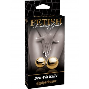 Palline geisha dorate Fetish Fantasy Gold Ø 2 cm