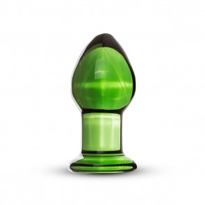 Plug anale in vetro 9x4cm