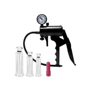 Pompa con 3 cilindri per clitoride + mini vibro