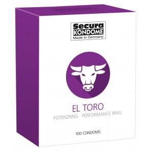 Preservativi El Toro 100 pezzi Secura